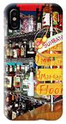 Stocked Bar At Jax IPhone X Case