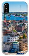 Stockholm From Above IPhone Case