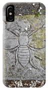 Stone Bee In Jim Thorpe Pa IPhone Case