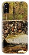 Stone Bridge In The Ozarks IPhone Case