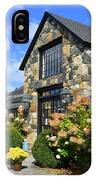 Stone Building In Connecticut IPhone Case