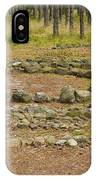 Stone Circle IPhone Case