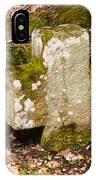 Stone Cross In The Forest IPhone Case