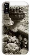Stone Embellishments Of Jesuits Church IPhone Case