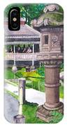 Stone Lantern IPhone Case
