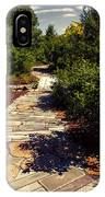 Stone Pathway IPhone Case