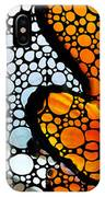Stone Rock'd Clown Fish By Sharon Cummings IPhone Case
