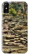 Stone Spring At Woodward Park 1 IPhone Case