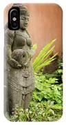 Stone Statue In Bali Indonesia  IPhone Case