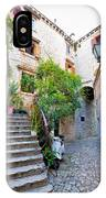 Stone Streets Of Old Trogir IPhone Case
