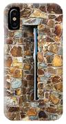 Stone Wall-small Window IPhone Case