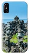 Stone Walls Made By Tourists IPhone Case