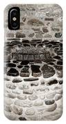 Stone Well At Old Fort Niagara IPhone Case