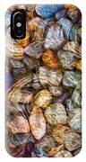Stoned Stones IPhone Case by Omaste Witkowski