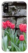 Stoned Tulips IPhone Case