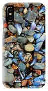 Stones And Seashells IPhone Case