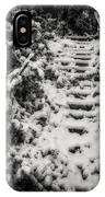 Stony Steps Covered With Snow IPhone Case