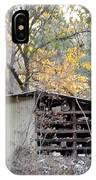 Storage Shed In Color IPhone Case
