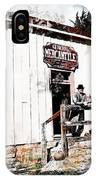 Store - General Mercantile IPhone Case