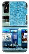 Stores On Ossington In Blue IPhone Case