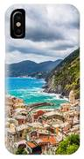 Storm Over Cinque Terre IPhone Case