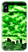 Storm Over The Emerald City IPhone Case