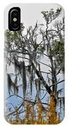 Stormy Marsh Cedar Tree IPhone Case