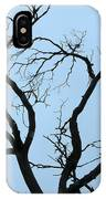 Stormy Trees IPhone Case