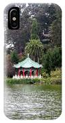 Stow Lake Chinese Pavilion IPhone Case