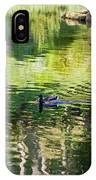 Stow Lake Idyll IPhone Case
