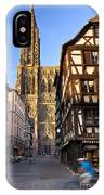 Strasbourg Cathedral IPhone Case