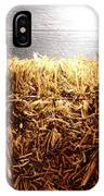 Straw Bale In Old Barn IPhone Case