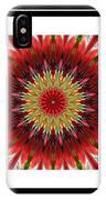 Strawberry Explosion Triptych - Kaleidoscope IPhone Case