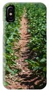 Strawberry Farm Field IPhone Case