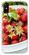 Strawberry Harvest IPhone Case