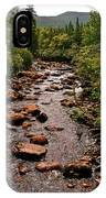 Stream Along Gros Morne Trail In Gros Morne Np-nl IPhone Case