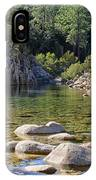 Stream And Rocks At Bavella In Corsica IPhone Case