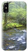 Stream Below Amicalola Falls IPhone Case