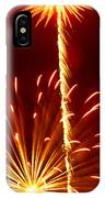 Streaming Fireworks IPhone Case
