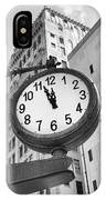 Street Clock IPhone Case