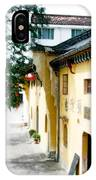 Street In Anhui Province China IPhone Case