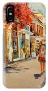 Street In Nafplio Greece IPhone Case