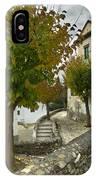 street in old Albaycin in Granada IPhone Case