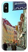 Street In Old Town Tallinn-estonia IPhone Case