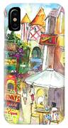 Street In Saint Martin IPhone Case