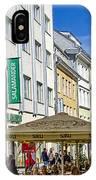 Street Life - Tallin Estonia  IPhone Case