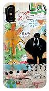Street Mural At Liguanea IPhone Case