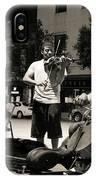 Street Musicians 2 IPhone Case