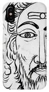 A Man In Cochin IPhone Case