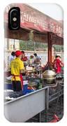Street Restaurant In Phnom Penh Cambodia IPhone Case